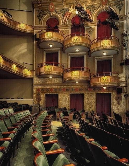 Das Wells Theater in Virgina: Bild für die am häufigsten am Broadway gespielten Musicals