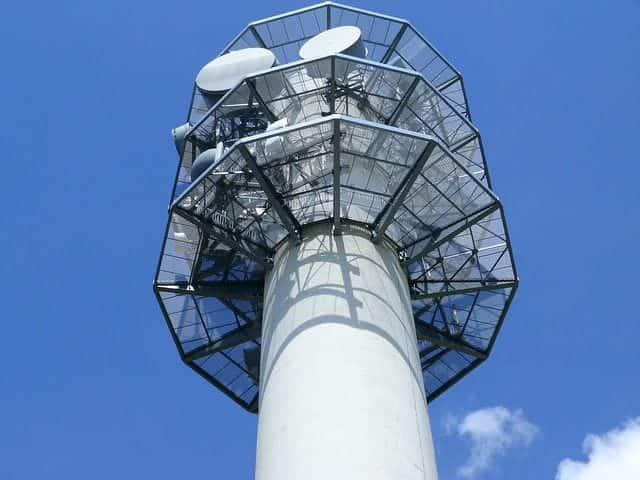 Fernsehturm auch zur WM Übertragung