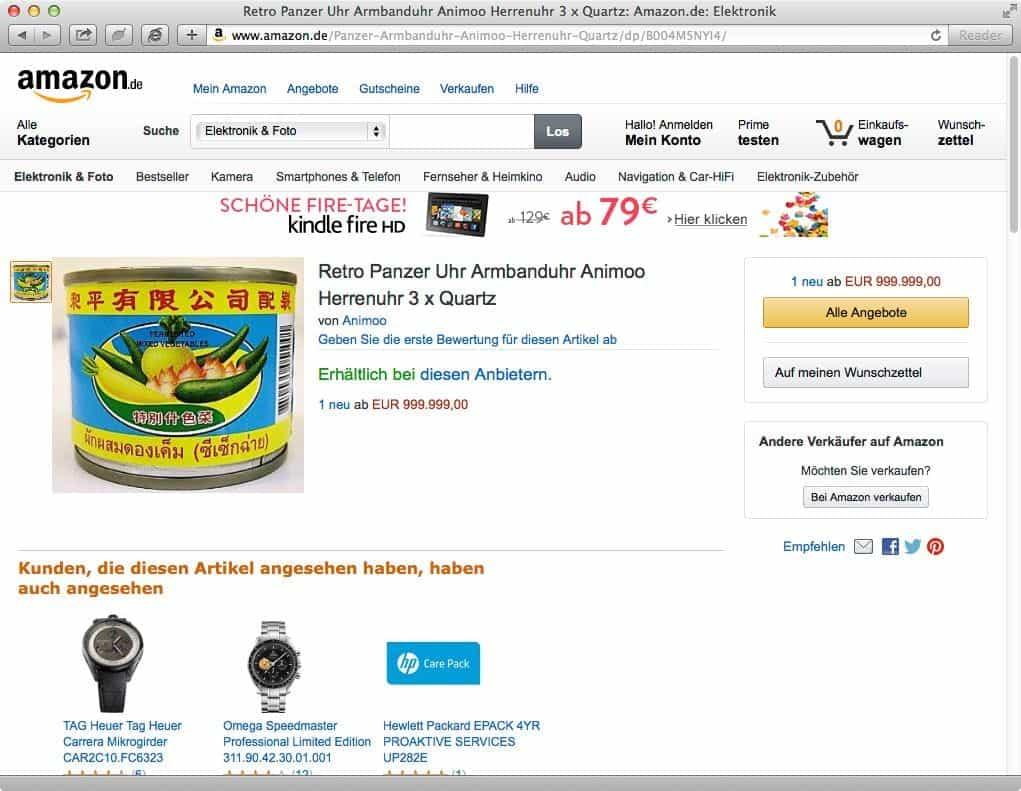 Teuerstes Produkt Auf Amazon
