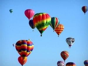 Ballonfahrten werden auch gerne verschenkt