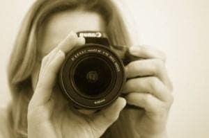 Vor der Linse: ein Fotoshooting