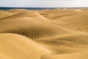 Urlaub in den Sanddünen von Gran Canaria