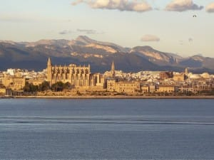 Panoramaansicht von Palma