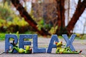 Relaxen mit Massageliegen