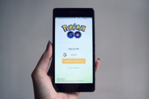 Pokémon Go Startbildschirm - hier gibt es noch keinen Tipp