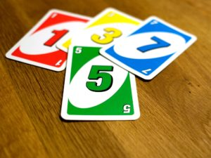 UNO-Kartenspiel