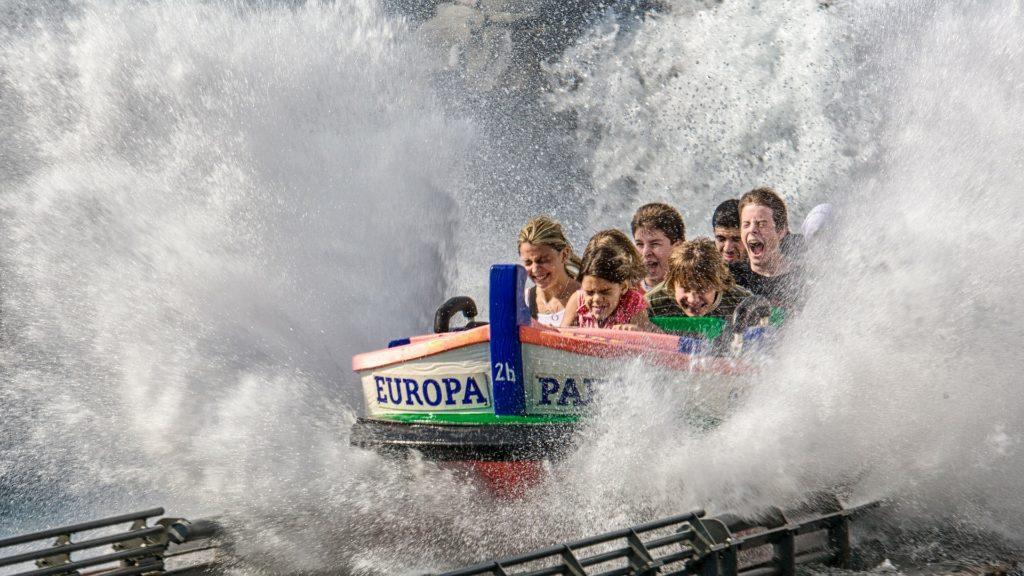 Wasser Attraktion im Europa-Park-Rust