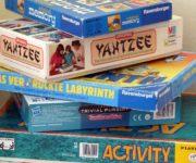 Auswahl von Gesellschaftsspielen